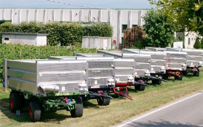 Vasca per trasporto uva e cereali for Vasca trasporto uva usata